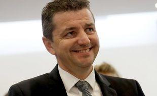 Gaël Perdriau est le maire sortant LR de Saint-Etienne.