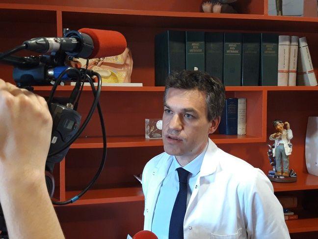 Le docteur Vincent Gualino, ophtalmologiste à la clinique Honoré-Cave de Montauban.