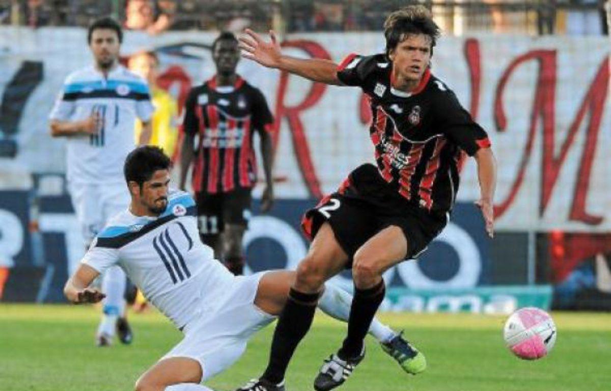De Melo a inscrit le but des Lillois, qui cumulent sept succès lors de leurs huit derniers matchs. –  O. Anrigo / REUTERS