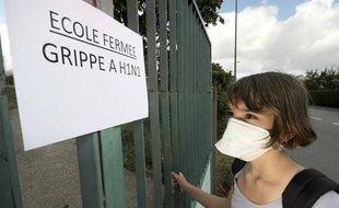 Les fermetures d'écoles, collèges ou lycées se multiplient en raison de la multiplication de cas de grippe A H1N1.