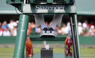 Un arbitre de chaise italien a été suspendu pour des propos déplacés envers une ramasseuse de balle, lors du Challenger ATP de Florence, le 30 septembre 2019 (photo d'illustration).