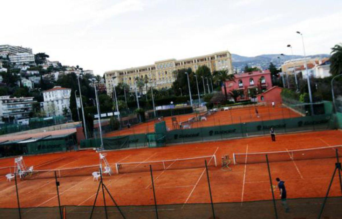 C'est au pied du lycée du Parc Impérial, à côté de l'ancienne résidence  de Suzanne Lenglen et à deux pas du centre-ville de Nice que se tiendra  l'Open – DR/Jean-Christophe Magnenet