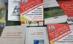 Illustrations revues sur l'Alsace.