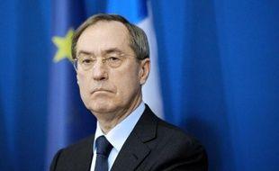 Claude Guéant alors qu'il était ministre de l'Intérieur, le 2 décembre 2011 à Paris