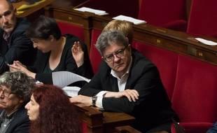Jean-Luc Mélenchon à l'Assemblée en juin 2018.