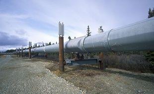 L'oléoduc Trans-Alaska à Paxson.