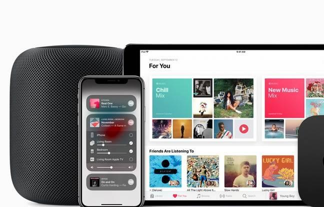 HomePod ne fonctionne que dans l'univers de produits Apple.