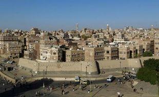 La capitale du Yémen, Sanaa, le 24 octobre 2015