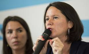 Johanna Rolland, maire de Nantes et présidente de Nantes métropole.
