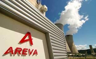 L'usine Eurodif d'enrichissement d'uranium d'Areva dans la Drôme en avril 2009.