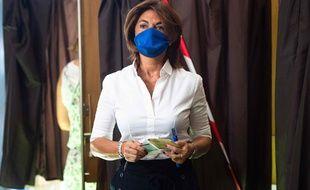 Martine Vassal conduisait la liste Les Républicains pour les élections municipales à Marseille.