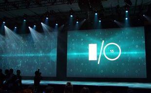 La conférence I/0 2015 de Google se tient au Moscone Center, à San Francisco.