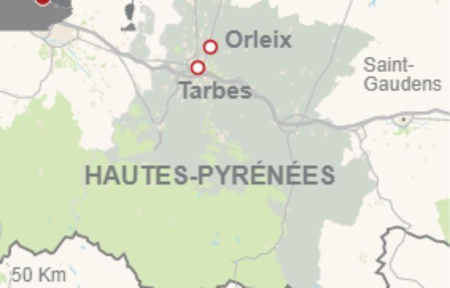 La commune d'Orleix, dans les Hautes-Pyrénées.