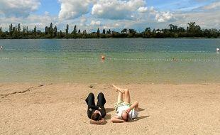 Le lac Achard est l'une des vingt baignades aménagées d'Alsace (archives).