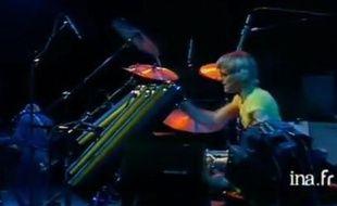 The Police en concert sur la scène de l'Empire, le 12 décembre 1979, capture d'écran sur l'INA.fr