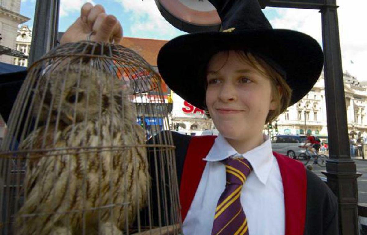 Un fan d'Harry Potter en juillet 2007, à Londres. – SECCHI MARCO/SIPA