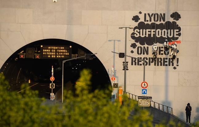 Pollution à la Lyon: Des parents d'élèves saisissent la justice pour obtenir la fermeture du tunnel de la Croix-Rousse