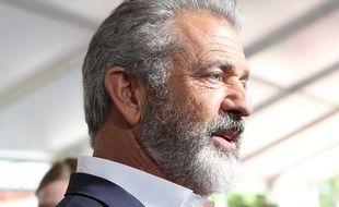 Le comédien Mel Gibson à Los Angeles