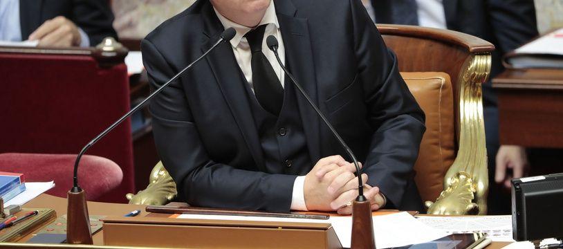 Le président de l'Assemblée nationale Richard Ferrand.