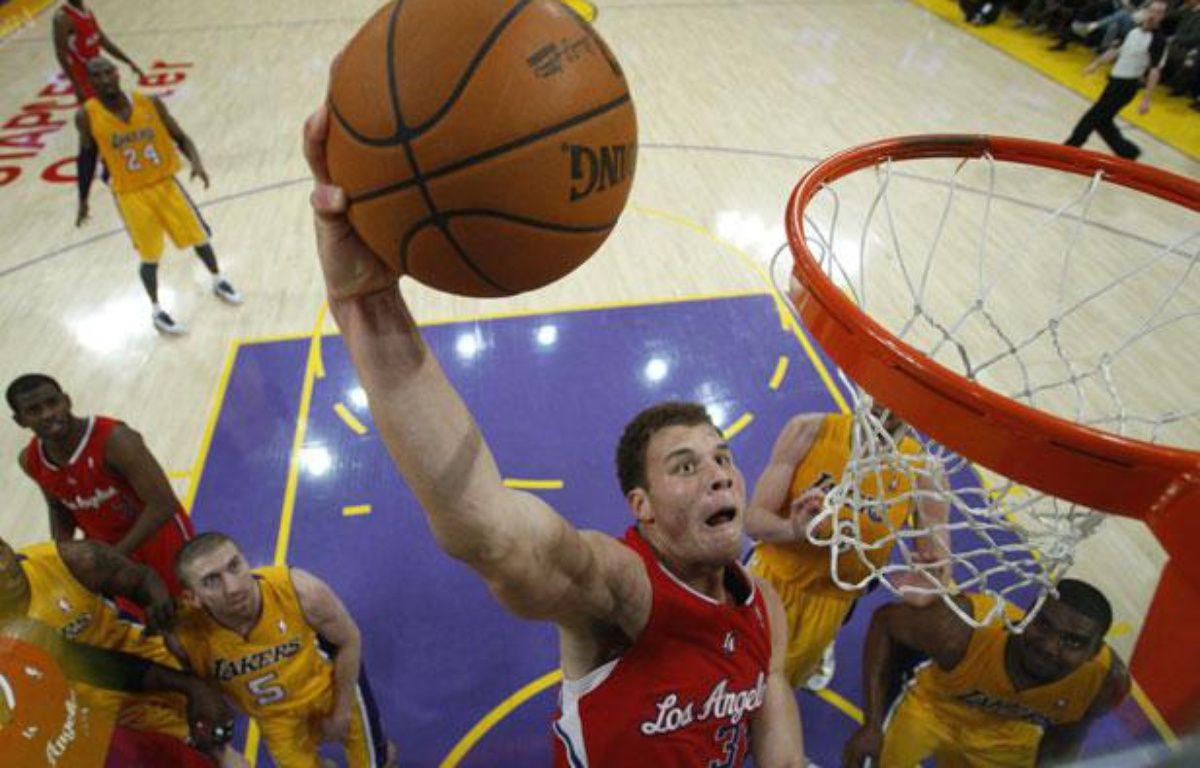 Le joueur des Los Angeles Clippers Blake Griffin, en décembre 2011. – REUTERS/Lucy Nicholson