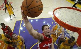 Le joueur des Los Angeles Clippers Blake Griffin, en décembre 2011.