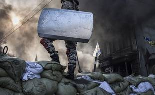 Révolte à Kiev.