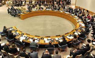 Le Conseil de sécurité de ONU à New York le 13 juillet 2011