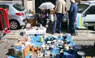 Venir à la braderie de Lille en voiture n'est pas toujours une bonne idée (illustration).
