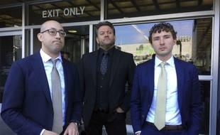 Les trois avocats de Karim Baratov, jeune Canadien de 23 ans accusé d'avoir mené, avec d'autres, l'attaque informatique contre Yahoo en 2014.