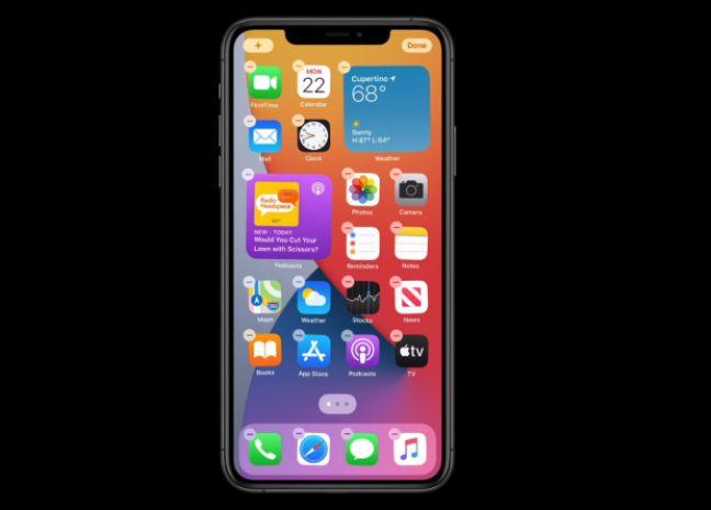 iOS 14: les 5 principales nouveautés