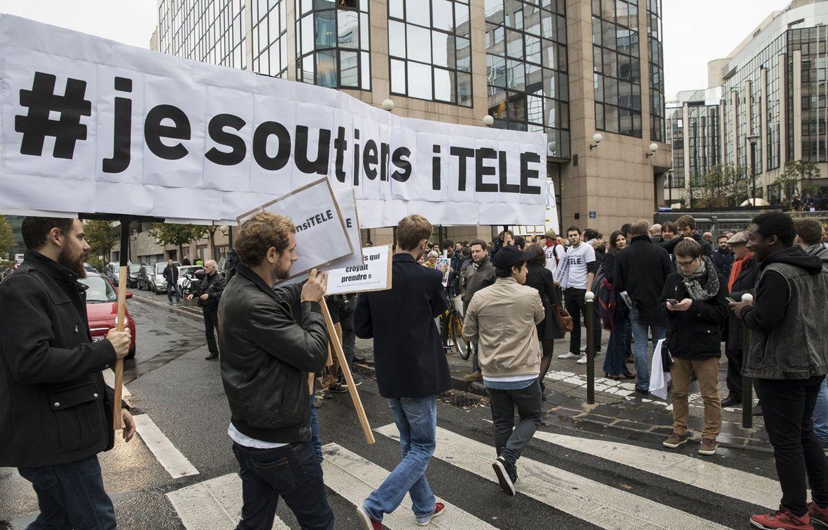 Les grévistes d'iTélé entament leur 30e jour de grève  – ROMUALD MEIGNEUX/SIPA