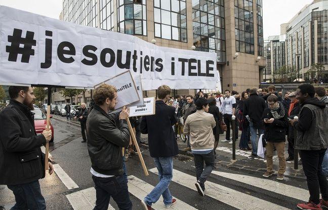Les grévistes d'iTélé entament leur 30e jour de grève