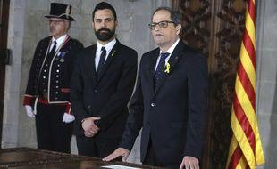 Quim Torra, le nouveau président de la Catalogne.
