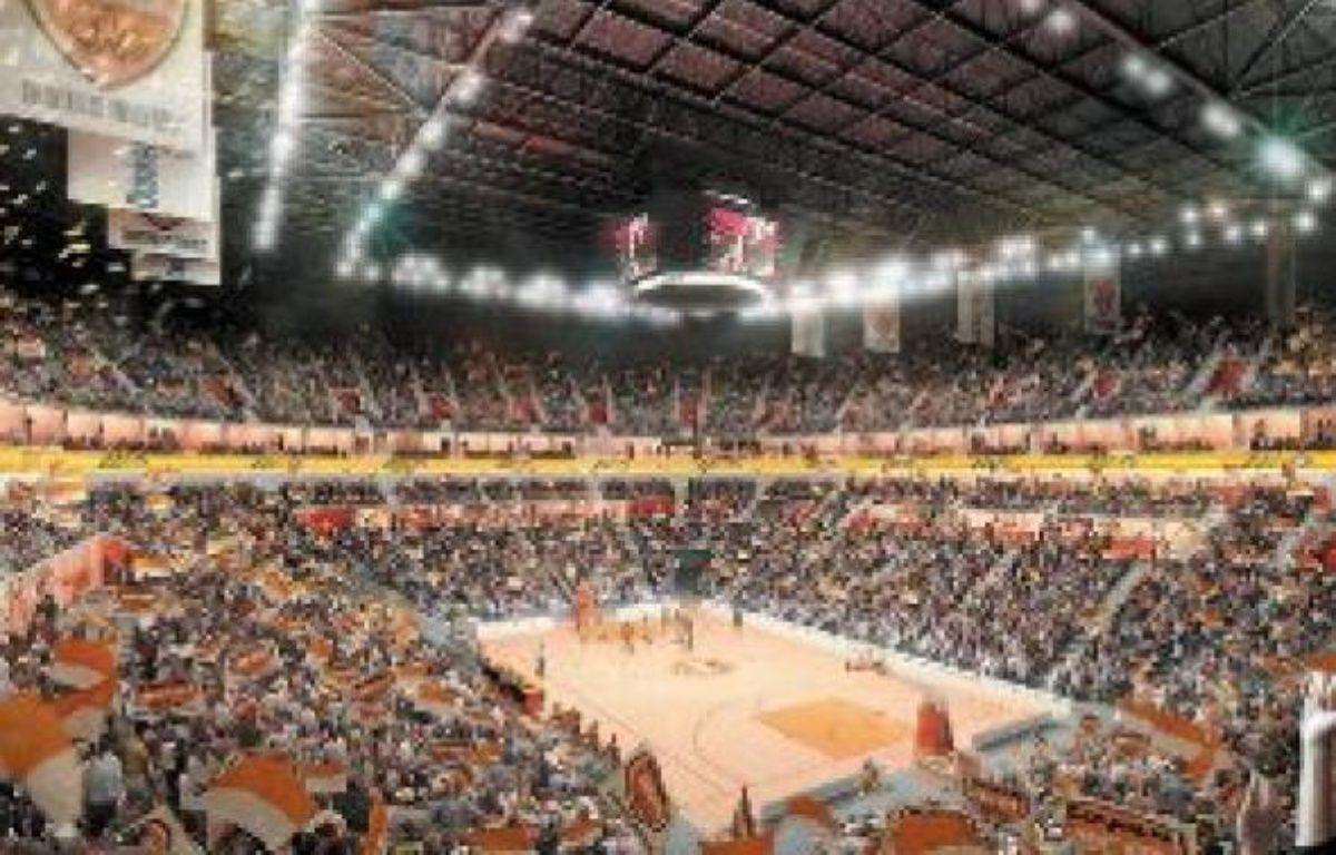 Voilà à quoi devrait ressembler d'ici trois ans la future Arena du Dunkerquois, une salle ultra-moderne façon NBA. –  DR