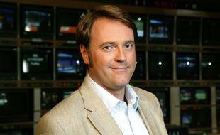 Stéphane Dubun, alors rédacteur en chef du «Soir 3» en 2006