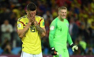 Les Colombiens ont été sortis aux tirs au but.