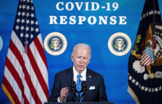 648x415 president americain joe biden fait point vaccination contre covid 19 10 mars 2021