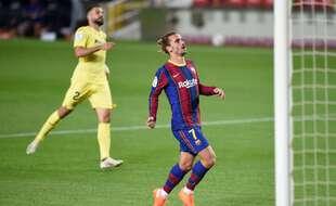 Antoine Griezmann lors du match Barça-Villarreal, le 29 septembre 2020.