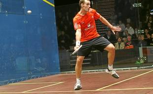 Le Français Grégory Gaultier, septuple champion d'Europe et numéro 1 mondial, espère décrocher un nouveau titre.