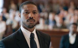 L'acteur Michael B. Jordan dans le film «La Voie de la justice»