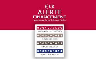 Alexandre Callet, un restaurateur de Rueil-Malmaison (Hauts-de-Seine), a lancé, ce jeudi 13 avril, un site Internet afin de recenser tous les crédits bancaires refusés aux entrepreneurs.