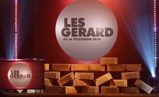 Les Gérard de la télévision 2016.