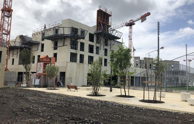 Le quartier du Belvédère va être livré fin 2022 sur la rive droite bordelaise.
