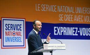 Edouard Philippe avait lancé une grande consultation sur le service national universel, le 13 septembre 2018 à Avignon.