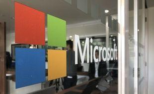 L'entrée du Microsoft Lab expériences de Nantes
