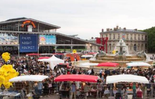 Edition 2018 du Paris Night Market de la Villette