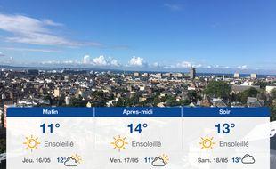Météo Le Havre: Prévisions du mercredi 15 mai 2019
