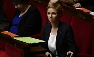 Clémentine Autain à l'Assemblée nationale