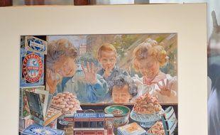 «Les enfants à la vitrine»