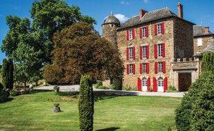 Le château du Bosc, dans l'Aveyron, où le peintre Toulouse-Lautrec a passé son enfance.